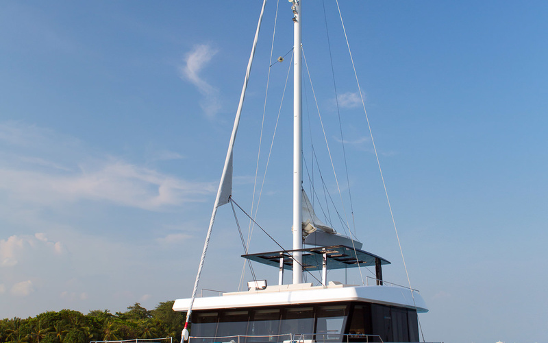 Sunreef 68 Supreme Sailing