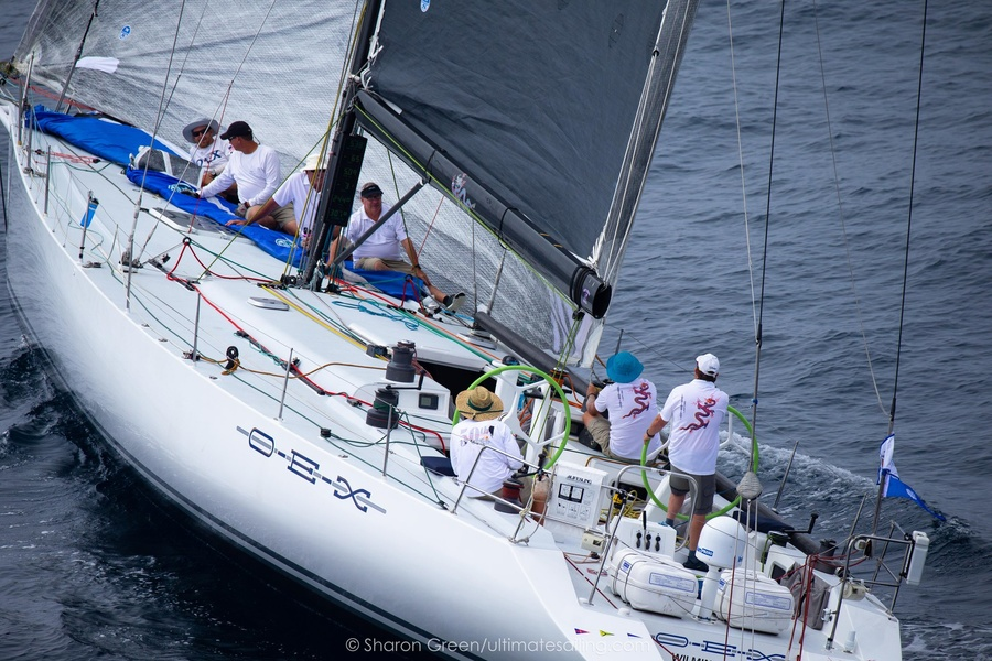 Santa Cruz 70 OEX на старте Transpac 2019