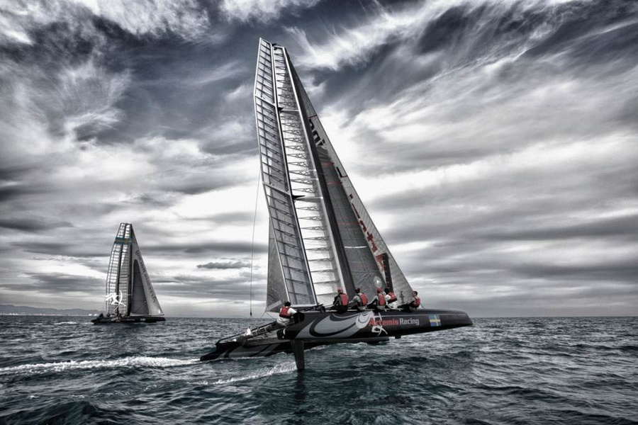 Artemis Racing готовится к Кубку Америки