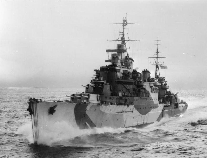 Британский крейсер Birmingham едва не стал жертвой «дыры в океане»