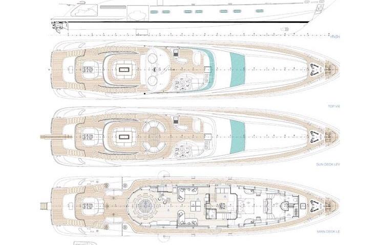 2008, ISA Yachts 120