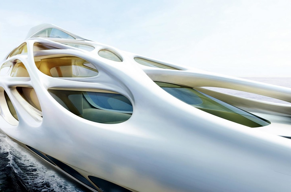Guests from the future: what yachts will be like in 20 years.
