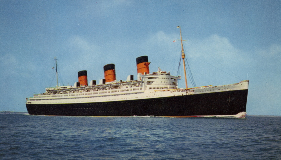 Queen Mary: всего пара градусов крена отделяли лайнер от гибели