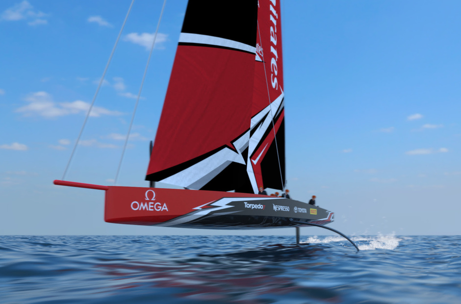Walking on water: the concept for a new «America's Cup yacht is unveiled.»