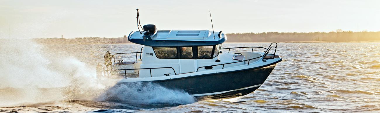 Брутальные лодки, готовые к любой непогоде