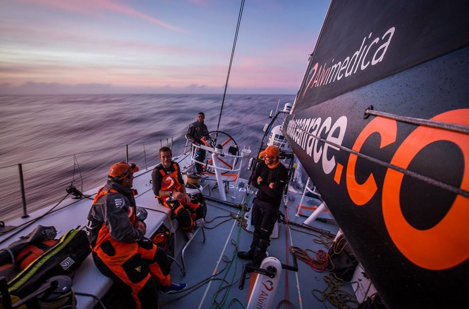 Team Alvimedica: School on Volvo Ocean Race