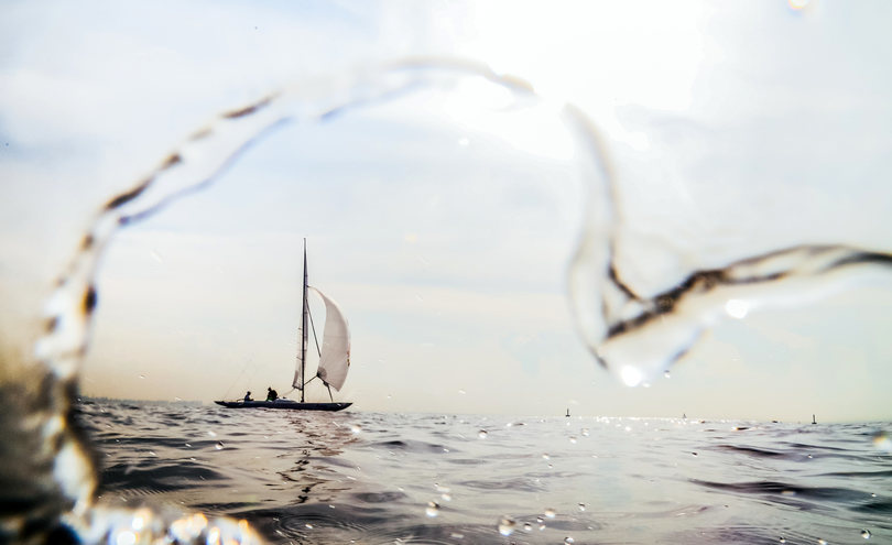 Love is... sailing