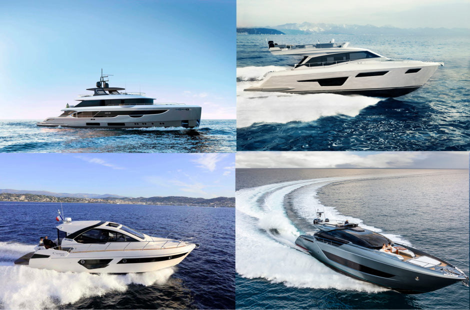 The most interesting novelties in the segment of motor yachts