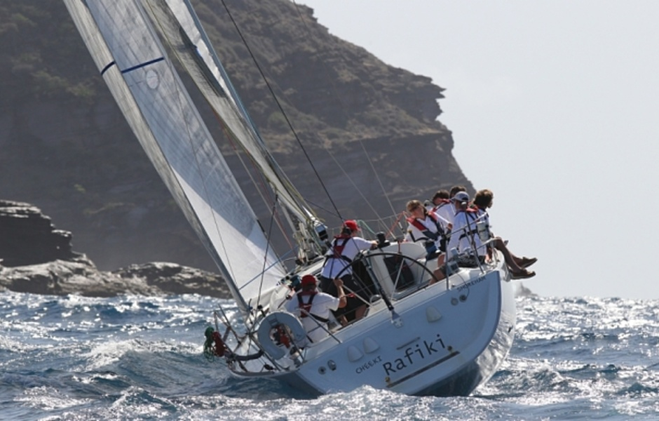 Cheeki Rafiki во рвемя Antigua Sailing Week 2014
