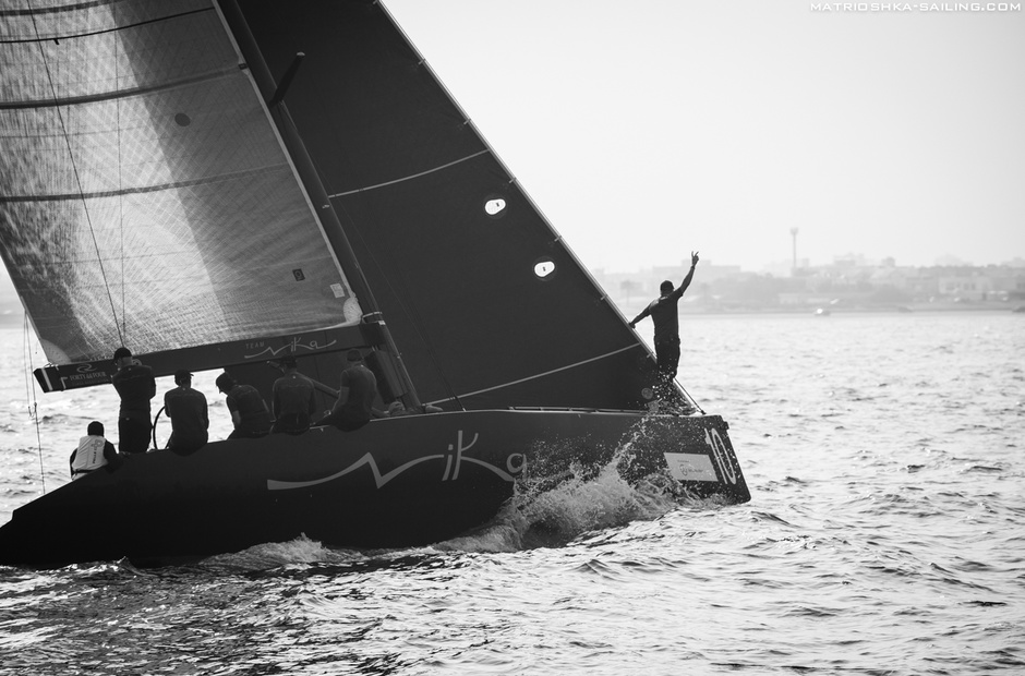RC44 in Oman: tough fight to the last day