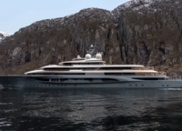 German Lürssen and Italian Benetti have occupied the first half of the list of the largest yachts launched in 2019. Of the 11 boats, 6 belong to these companies. Espen Oeino, the 136-metre Flying Fox, is the unqualified leader on this list. The boat is also the largest yacht available for charter this year. There are 11 cabins available to accommodate guests aboard the «chanterelles». For their relaxation, there is a two-level spa of 400 sqm and a 12-metre swimming pool. It is served by a crew of 24 people.