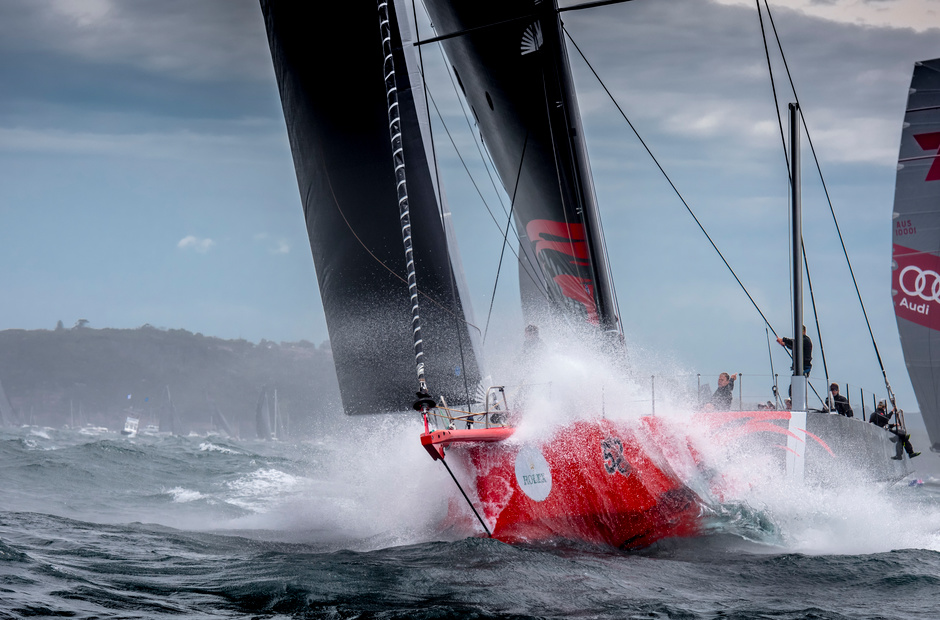 Rolex Sydney Hobart: a Christmas «gift» from Mother Nature