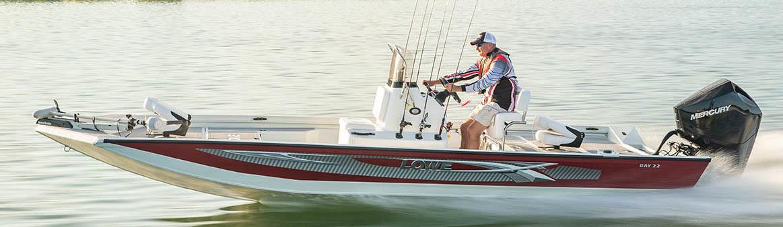 Плоские катера с небольшой осадкой для ловли рыбы на мелководье