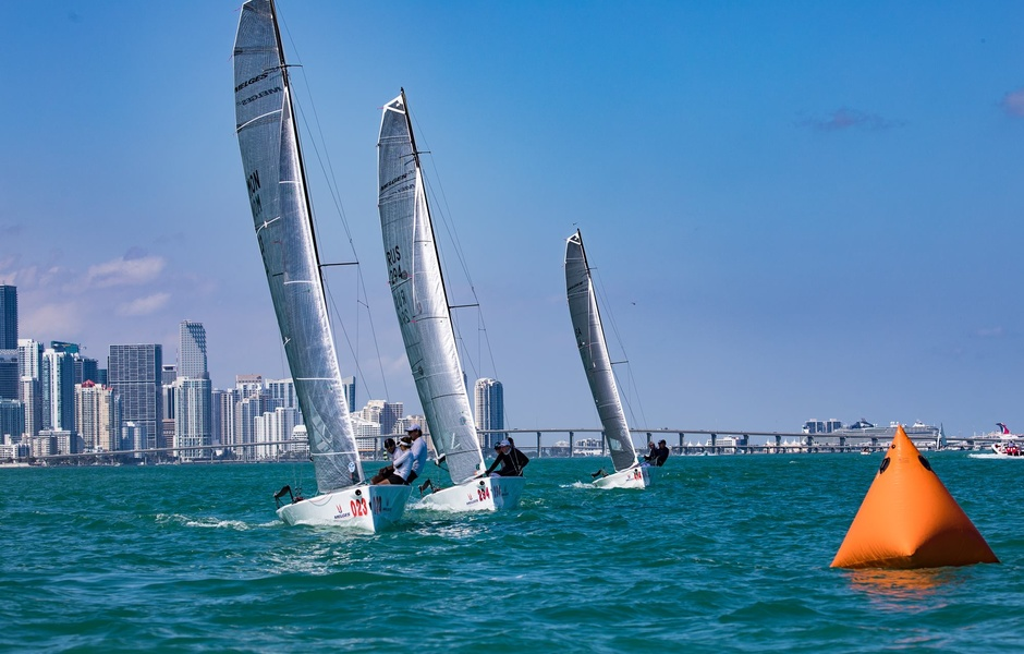 Флот  Melges Rocks Regatta
