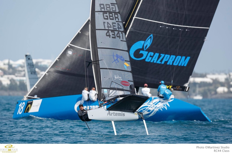 How did the first races of the new RC44 Championship season go?