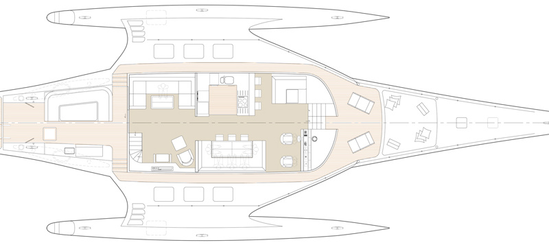 JFA Yachts MY 108′ Power Triamaran
