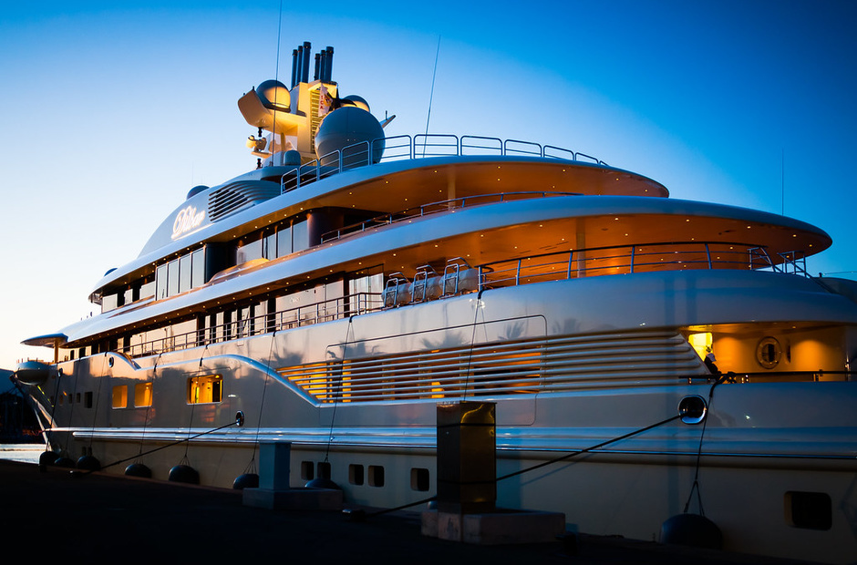 Top of the world's most expensive superyachts