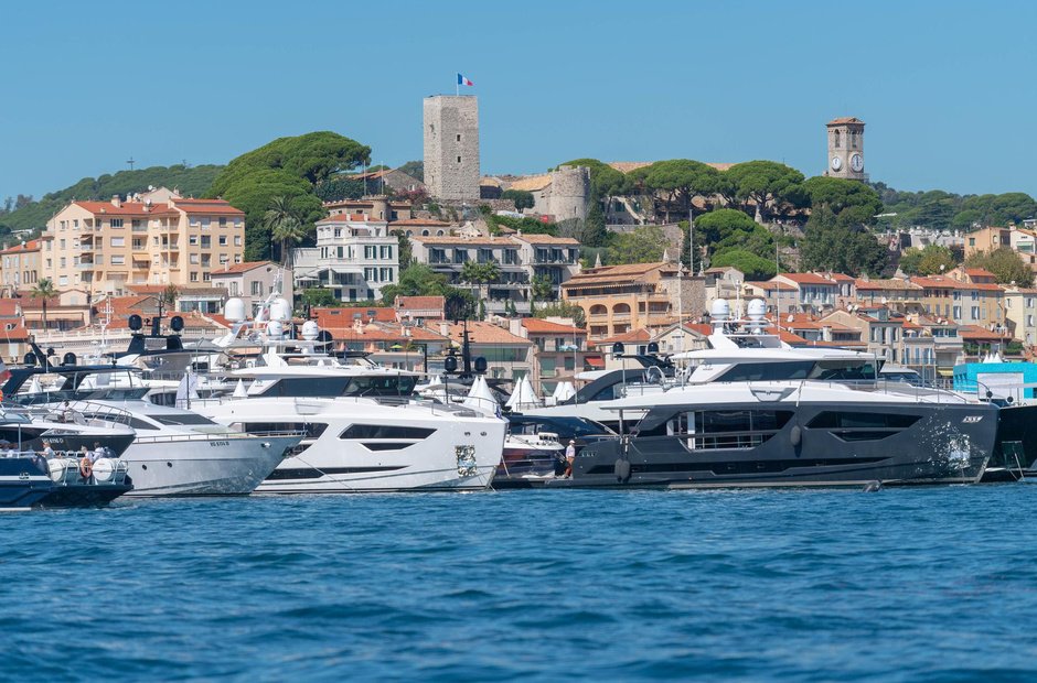 The Cannes Yacht Show will