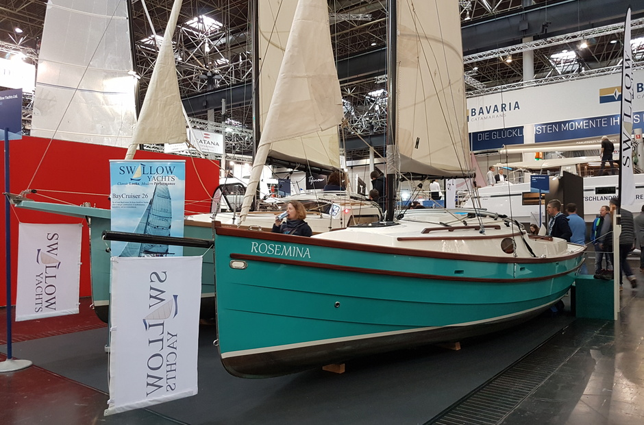 Dusseldorf non-standard: unknown sailboats of the exhibition