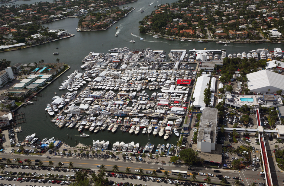 How did the brokerage yacht market behave in the first half of 2020?