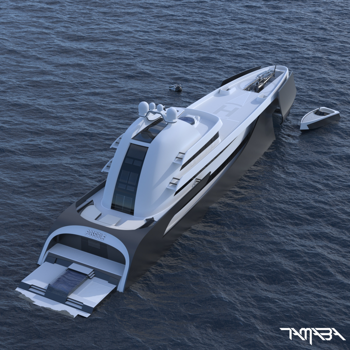 Motor yacht A, the reincarnation
