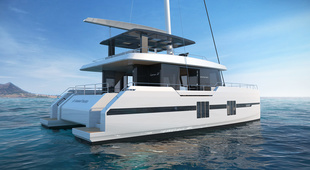 Sunreef Supreme 58 Sailing