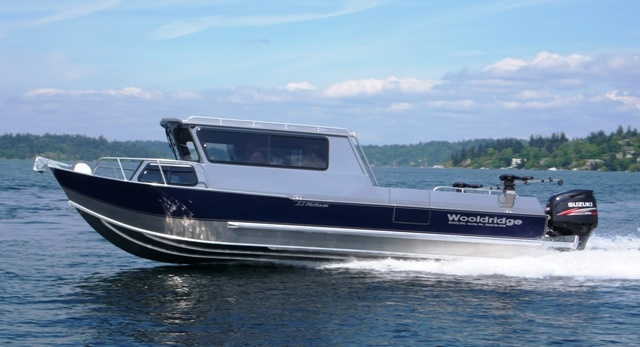 Wooldridge 23' Super Sport Offshore Pilothouse