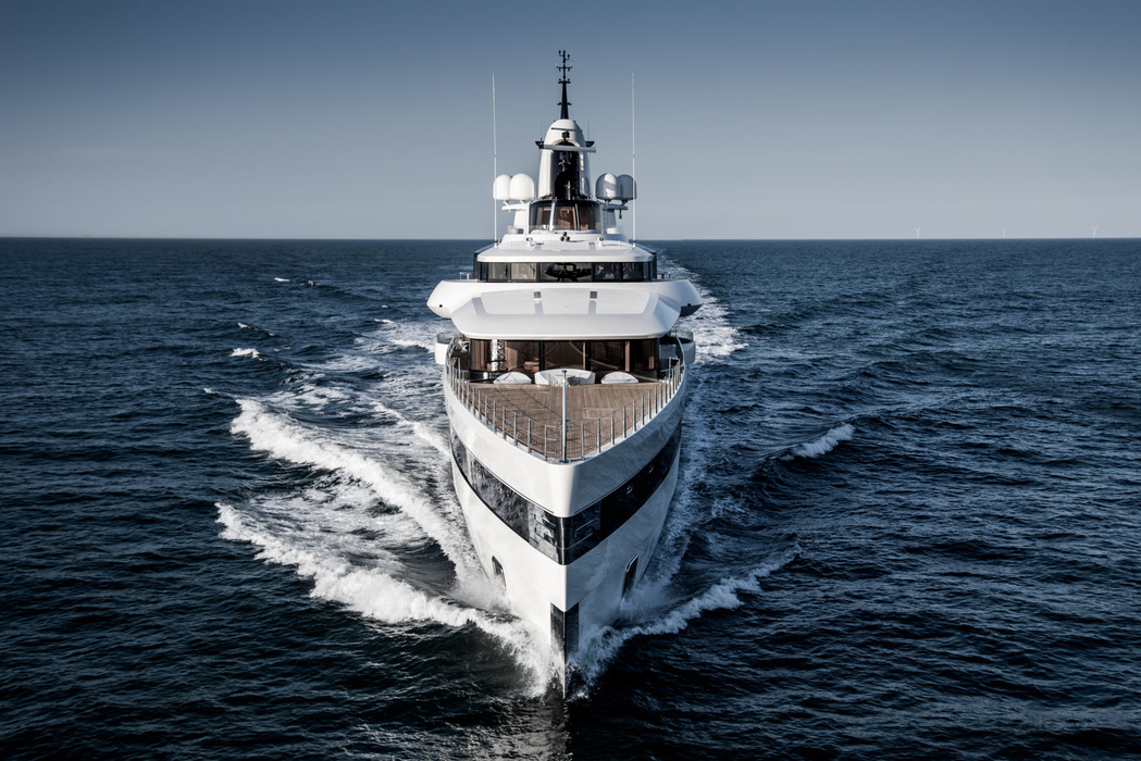 It is planned that the superyacht will be delivered to the owner exactly by the beginning of the summer season and will be immediately available for charter. By the way, after the transfer to the owner Lady S will officially enter the top 100 superyachts of the world, where it will take place in the sixth ten.