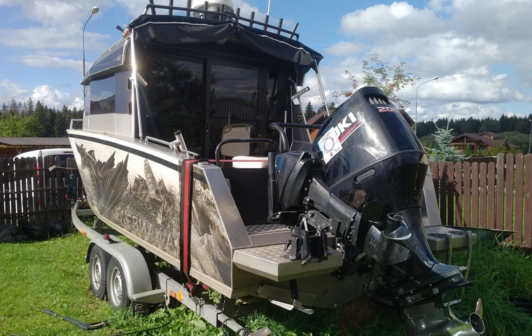 2017, Volzhanka Cabin 67