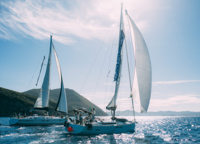 There is always a race day at the Big Race, when yachts can win each other over the wind.