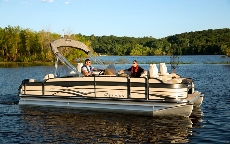 Premier Pontoons Cast A Way 241