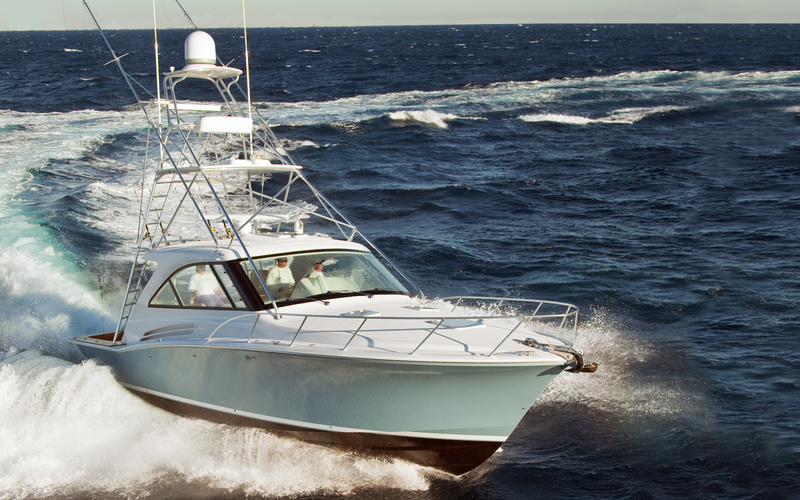 Hatteras GT45X Tower