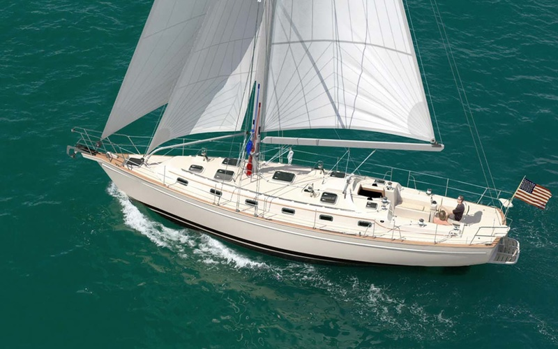 Island Packet Yachts IP 490
