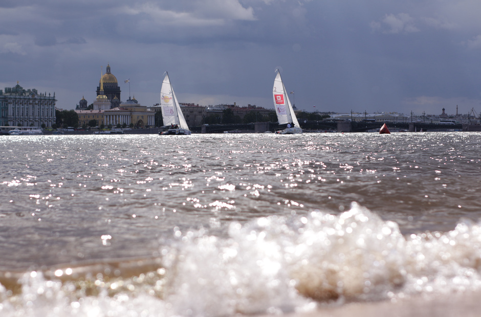 St. Petersburg State University and Moscow State University against Oxford and Cambridge: the Sailing Battle on the Neva.
