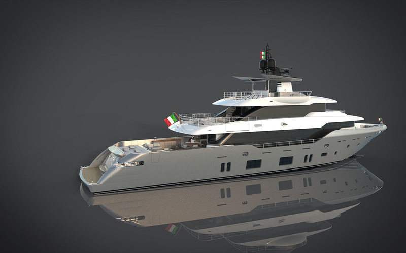 Canados  Oceanic 120' Fast Expedition