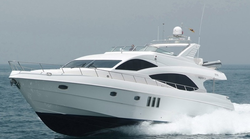 Majesty Yachts 77