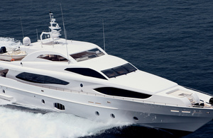 Majesty Yachts 121