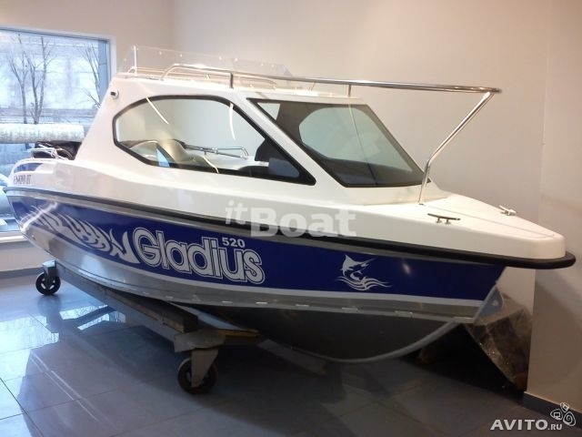 Специальные катера Kalmar 610