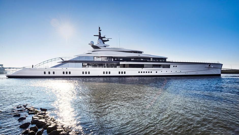 Bravo Eugenia — крупнейшее творение голландской Oceanco.