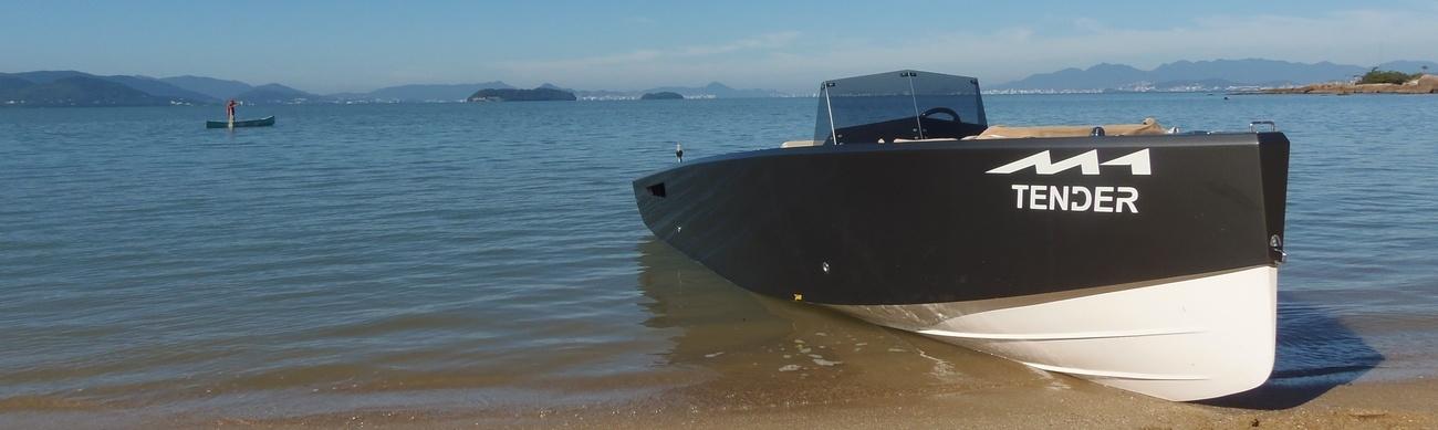 Связующее звено между большими яхтами и берегом