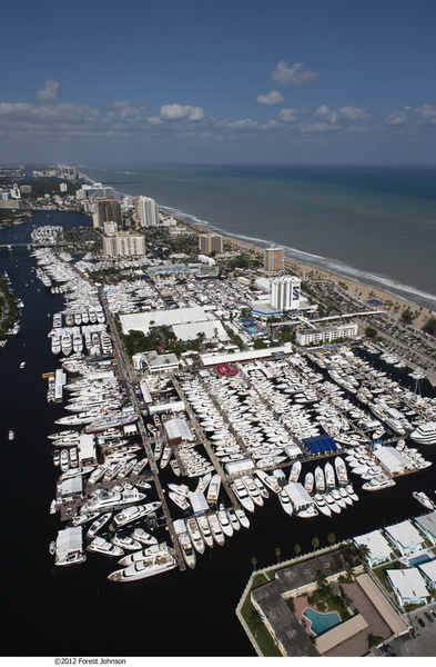 Fort Lauderdale International Boat Show в 2012 году